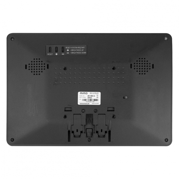"""MIMO Vue HD Model UM-1080C-G WITH 10.1"""" Touchscreen Monitor - 3"""